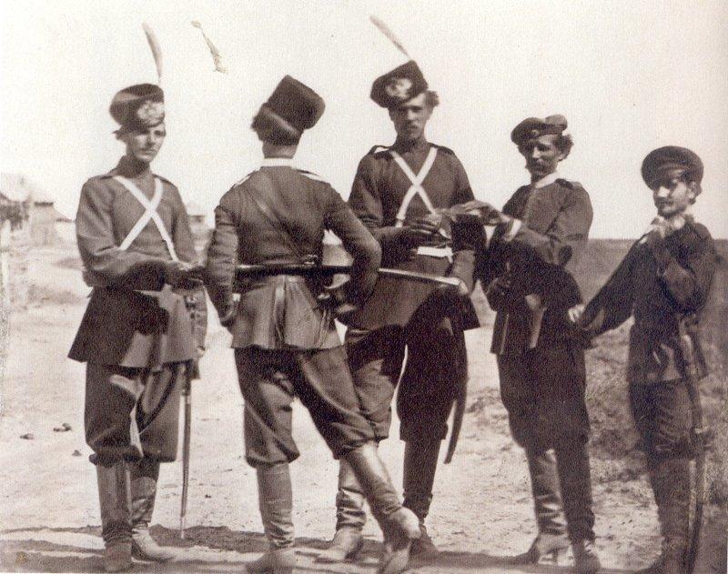 32. Сбор на службу до революции, донские казаки, история, казаки, казачий быт, фотографии