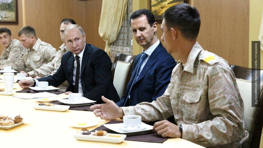 Заявление Путина о выводе войск из Сирии шокировало жителей США