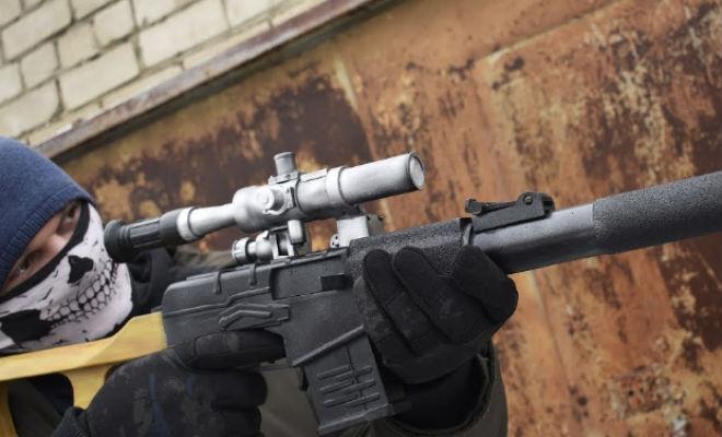 Спецназовский Винторез против брони: проверка эффективности выстрела