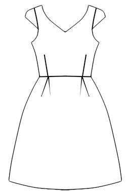 Правильные фасоны черного платья для всех возрастов