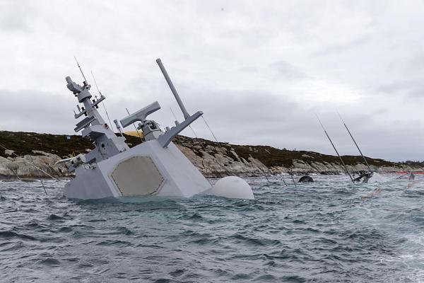 Норвежский фрегат был обречен