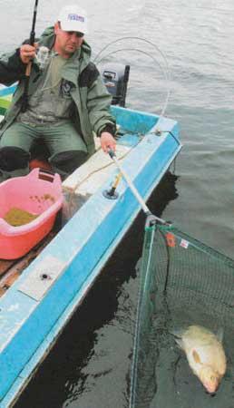 Оборудование рабочего места в лодке