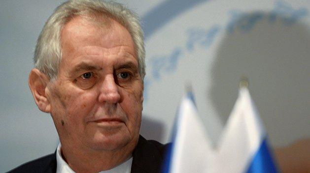 Земан: Децентрализация Украины – разумное решение
