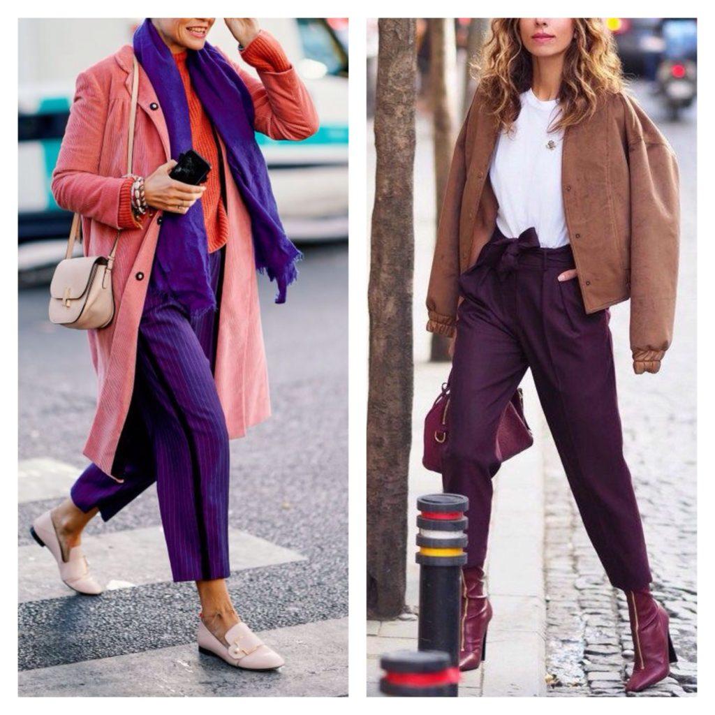фиолетовые модели