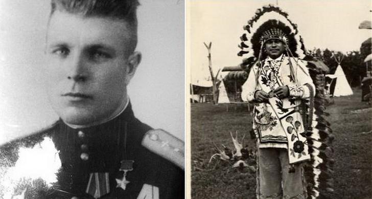 Загадка судьбы: как советский летчик Иван Даценко стал вождем индейского племени жизнь,история,слухи,тайны,факты