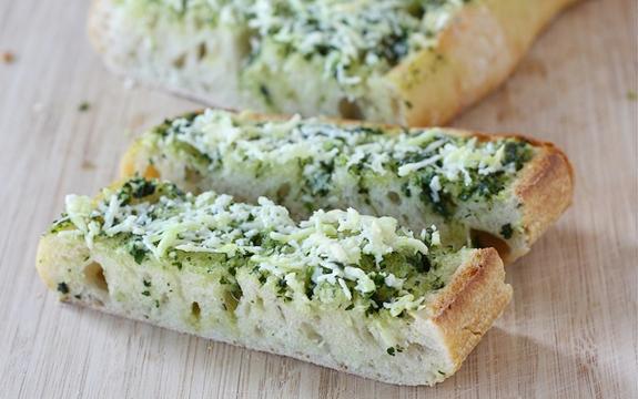Рецепт. Чесночный хлеб