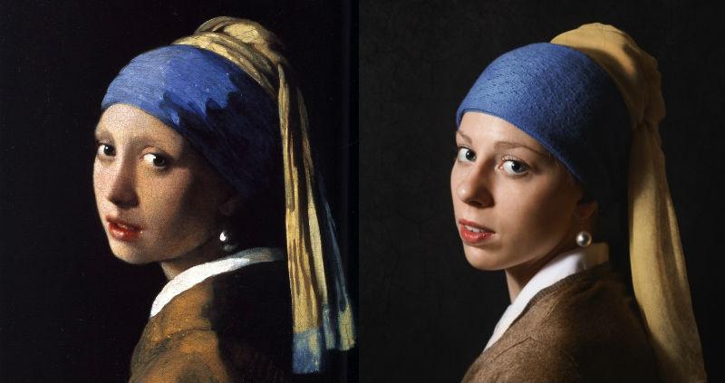 «Сфоткай типа Рембрандт»: паблик с удачными пародиями на знаменитые картины