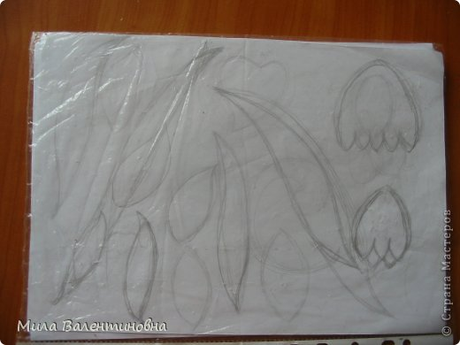 Картина панно рисунок Мастер-класс Новый год Моделирование конструирование МК-Цветы из джутовых ниток на сетке Нитки фото 5