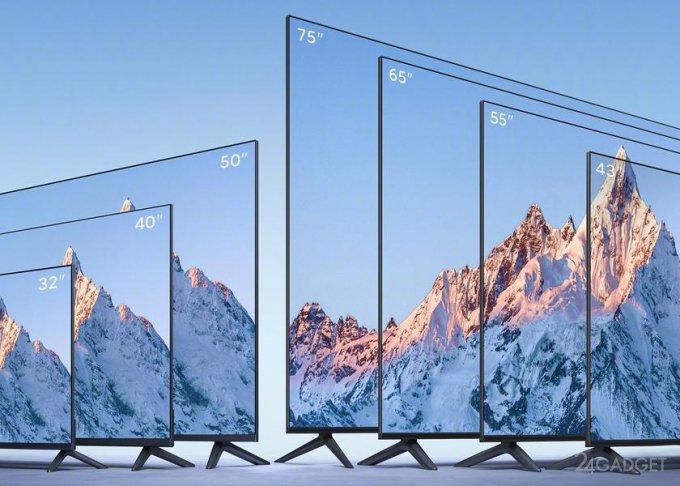 Xiaomi представила новую линейку телевизоров Mi TV EA 2022 в семи модификациях