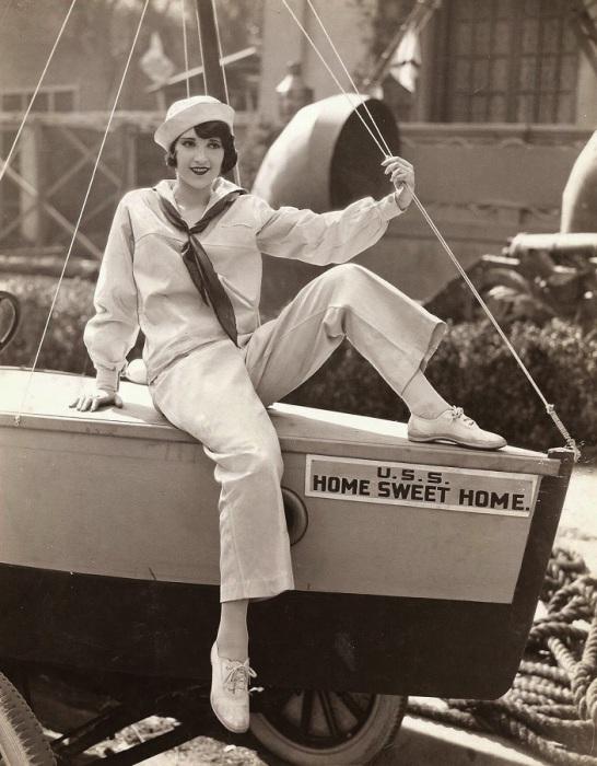 Востребованная актриса 1930 годов.