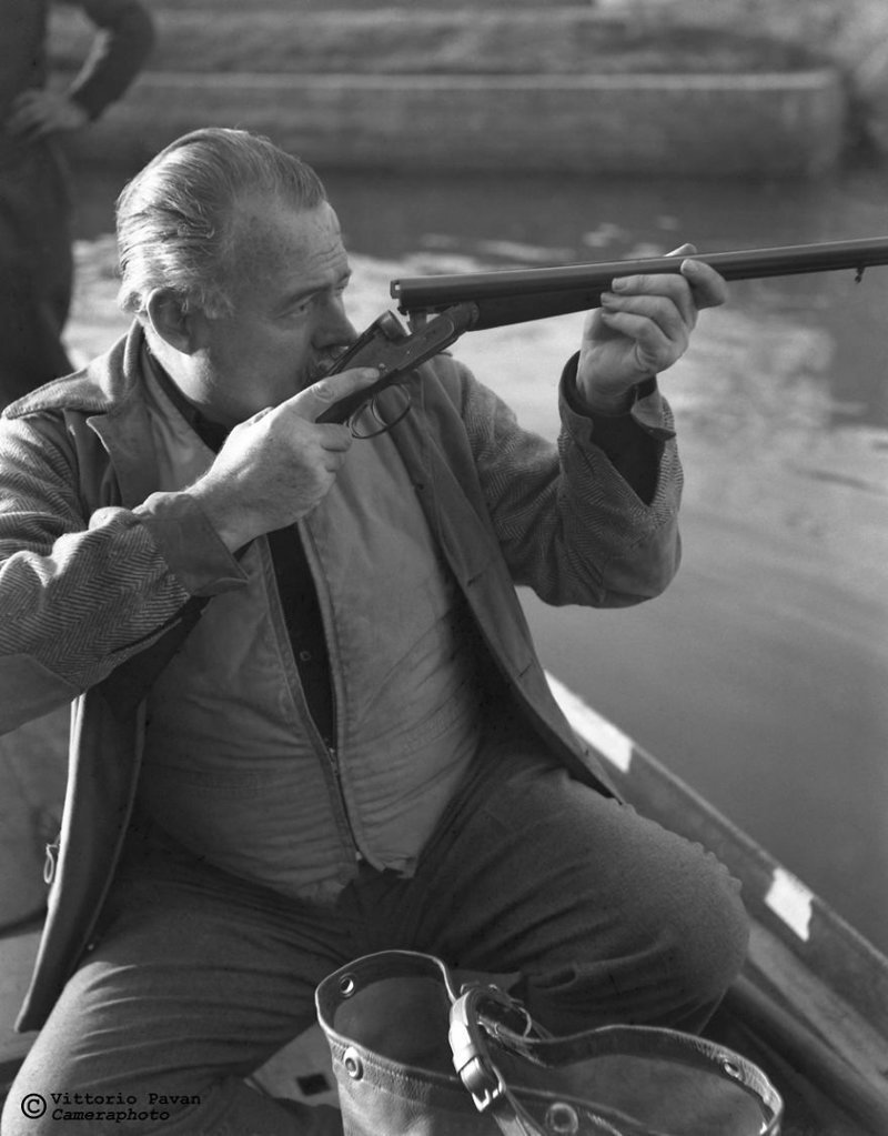 Эрнест Хемингуэй архив, венеция, негативы, фотографии