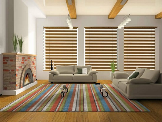 Ковер в гостиную: мягкое и уютное дополнение для зоны комфорта