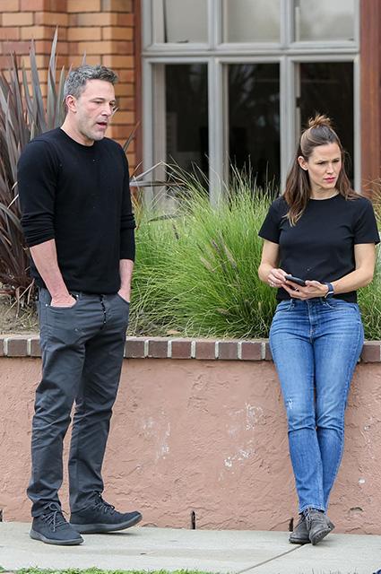 Дженнифер Гарнер и Бен Аффлек вместе отметили день рождения сына Звездные пары