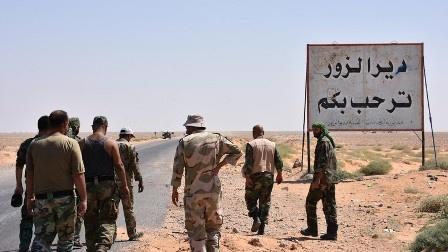 Сирийская армия расширяет зону контроля ксеверу июгу отДейр-эз-Зора