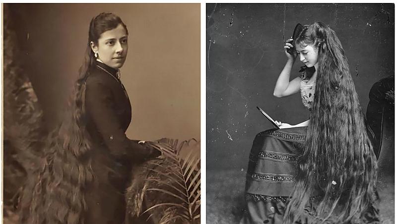 Волосы длиною в жизнь: красавицы Викторианской эпохи, которые никогда не стриглись
