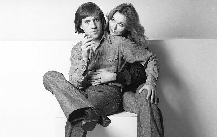 Высоцкий и Марина Влади, вместе с которой он был до последних своих дней Бард, Владимир Высоцкий, актер, знаменитости, интересно, певец, фото