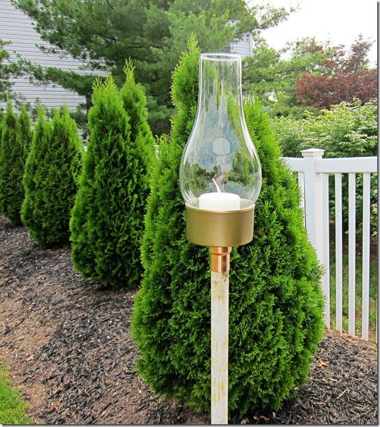 Идеи для дачи. Превращение лавки в стильные качели. Подсвечник из старой люстры для дома и дачи,мастер-класс