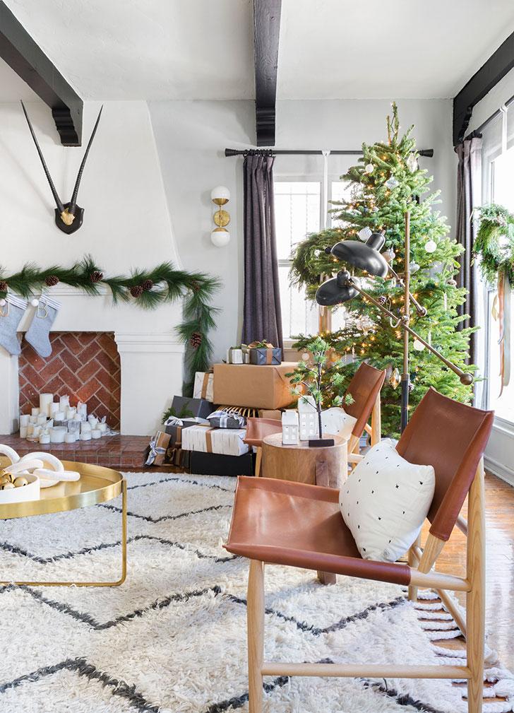 Золото и много зелени: Рождество в теплой Калифорнии