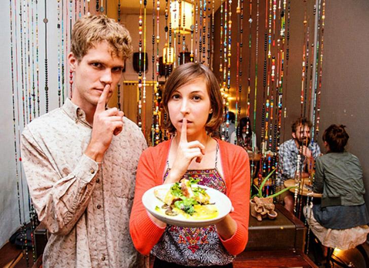Диковинные рестораны планеты достопримечательности,еда,кухня,общепит,рестораны