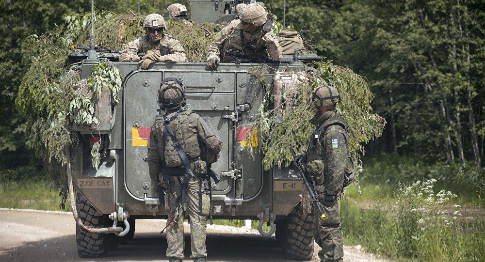 В Эстонии стартовали учения НАТО Сабер Страйк