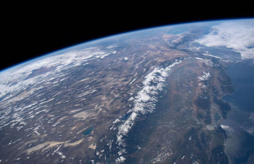 Залив Сан-Франциско, Аризона и северная Мексика. (Фото NASA):