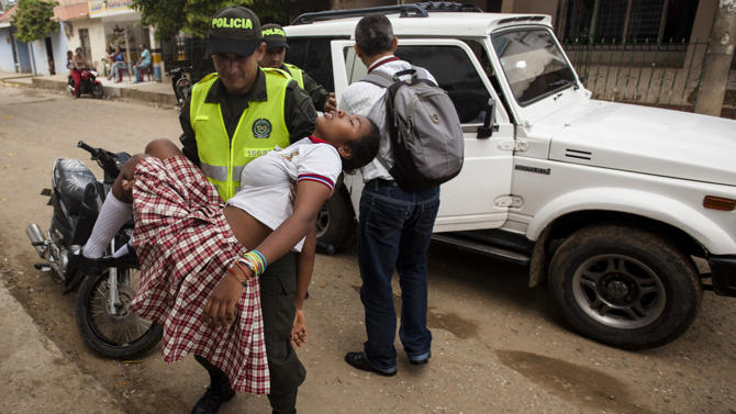 Mystery illness plagues girls in Colombia