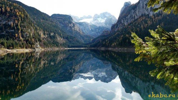 Лучше гор могут быть только горы, отражённые в чистой воде...