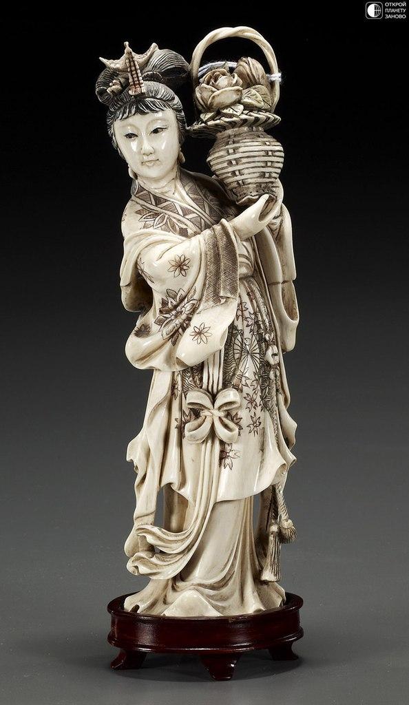 Древнее китайское искусство - резьба по кости