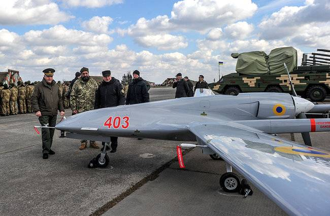 Турецкие беспилотники Bayraktar TB2 в украинской армии