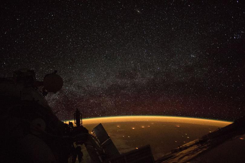 Над Австралией, 7 октября 2018. (Фото NASA):