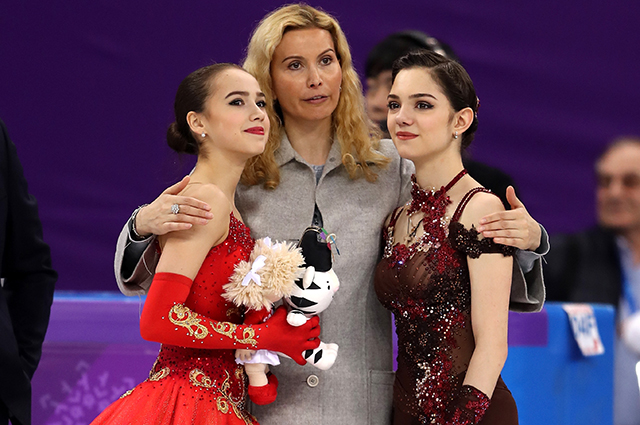 СМИ: Евгения Медведева решила вернуться в команду Этери Тутберидзе