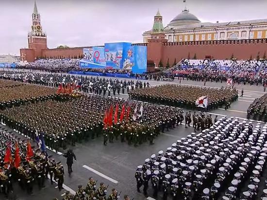 «Это величественно!»: британцы восхитились парадом Победы в Москве
