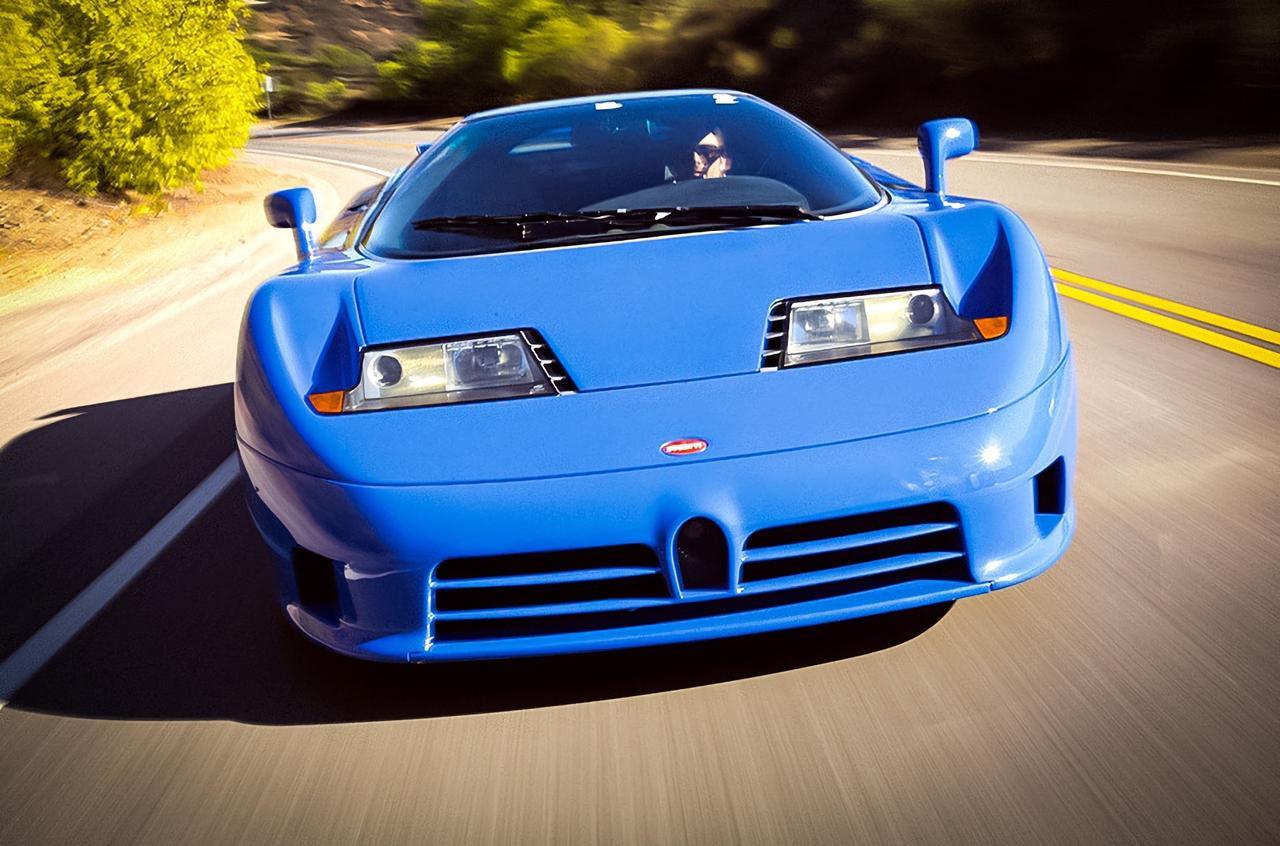Крестный отец: великому Bugatti EB110 исполнилось 30 лет