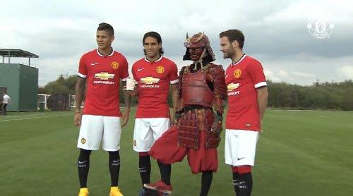 """Красный самурай и """"Манчестер…"""