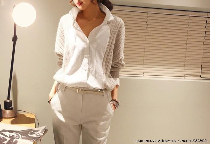 Переделка одежды: свитер и блузка