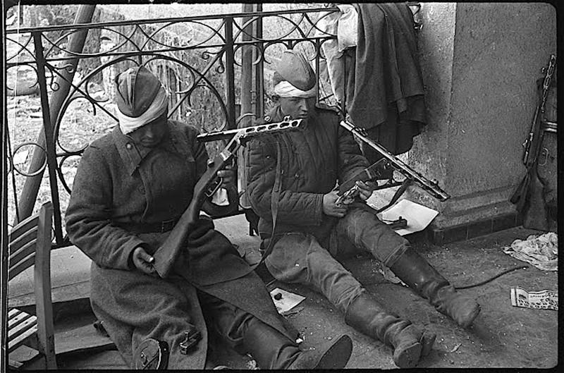 Берлин 1945 года в объективе Валерия Фоминского