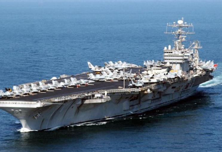 """Мы им еще и новый авианосец поломали!  Американцы нашли российский след в поломке авианосца """"Джеральд Форд"""""""