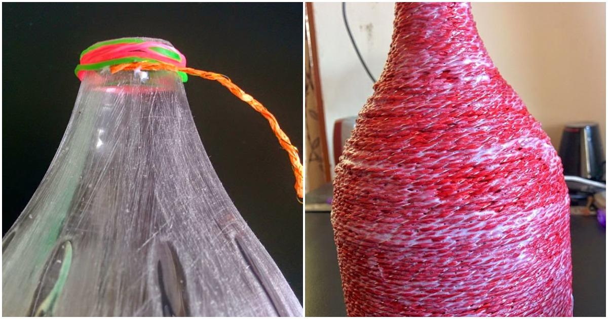 Создайте индивидуальный стиль в комнате: необычный светильник из бумажной верёвки
