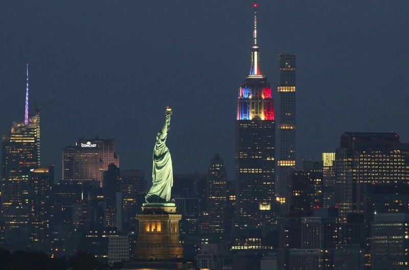 Статуя Свободы в Нью-Йорке занимает только 47-е место в списке самых высоких статуй. Ее высота — 46 м в мире, высота, красота, люди, памятник, подборка, статуя, факты