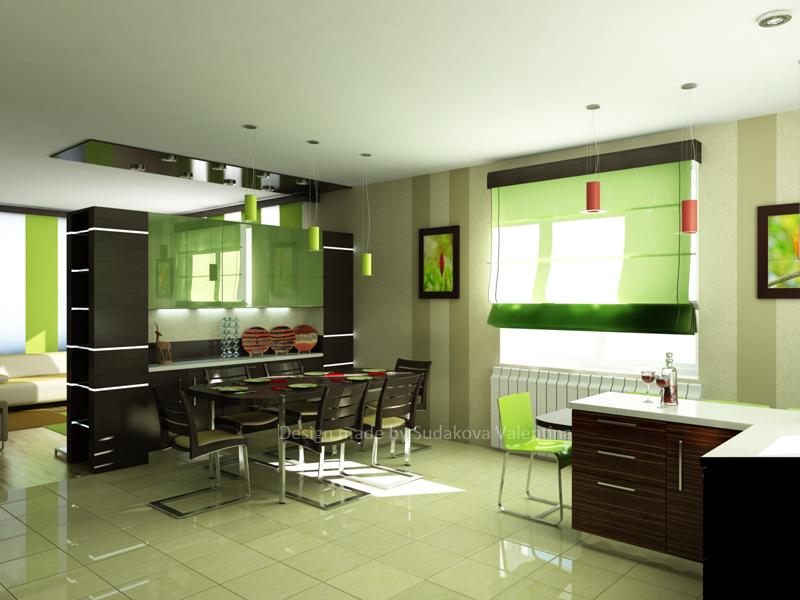 Хочу объединить зал и кухню, сделав один вход..