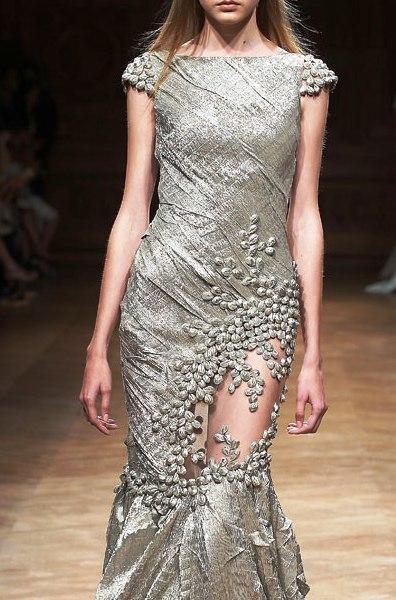 Замечательные вечерние платья из зимней коллекции Tony Ward