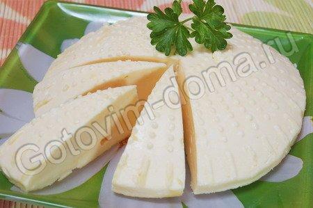 """Домашний сыр с содой от """" Готовим дома"""""""