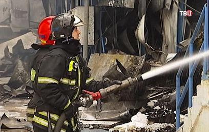 Три человека погибли при пожаре в магазине в Раменском
