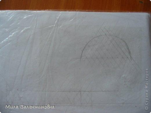 Картина панно рисунок Мастер-класс Новый год Моделирование конструирование МК-Цветы из джутовых ниток на сетке Нитки фото 4