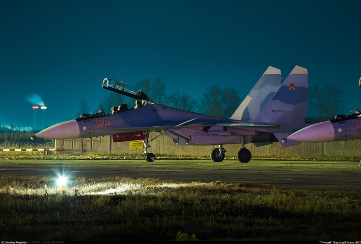 Очередная пара Су-30СМ для ВВС России