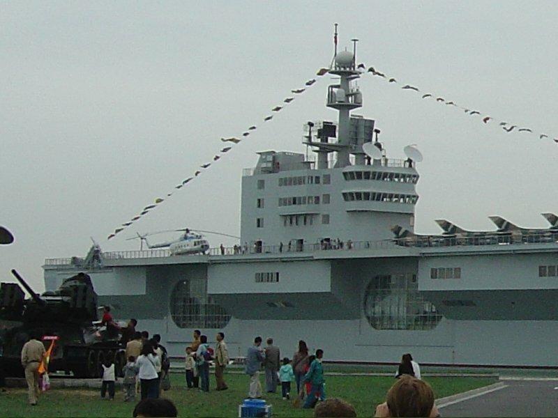 Китайская шутка авианосей, китай, музей, оружие, шутка.