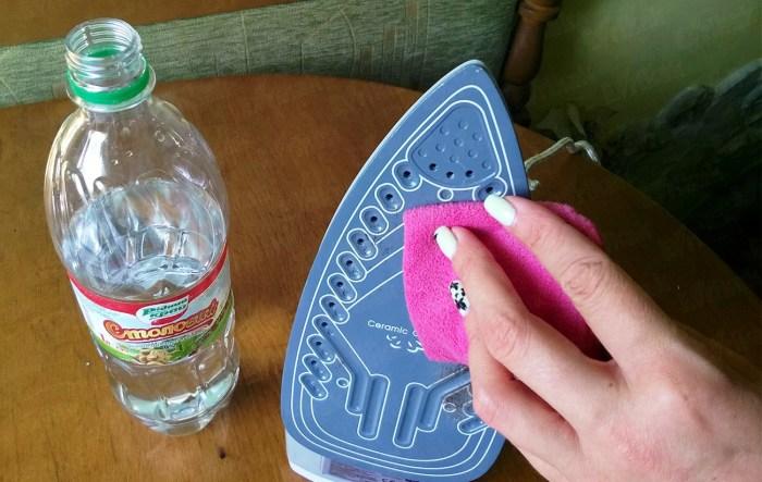 Простые способы очистить утюг от нагара