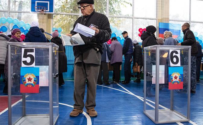 Выбор Донбасса: Запад не смо…