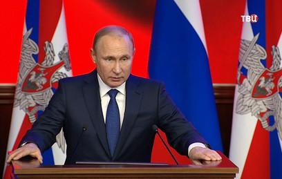 Путин назвал российскую армию одной из ведущих в мире