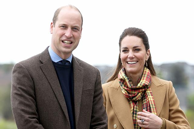 Кейт Миддлтон и принц Уильям впервые прибыли с визитом на Оркнейские острова